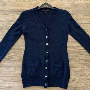 Brooks Brothers Blue Cardigan